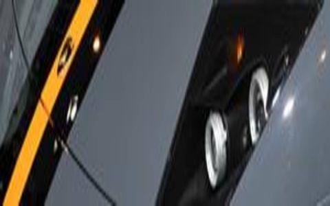 Motor vehicle, Mode of transport, Blue, Automotive design, Yellow, Transport, Photograph, White, Rim, Automotive exterior,