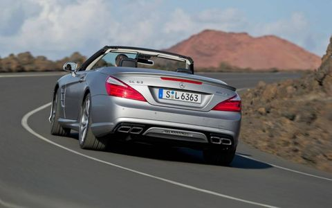 The car felt right at home on the smooth, winding mountain roads surrounding St. Tropez in the south of France, where Mercedes chose to showcase the car's talents.