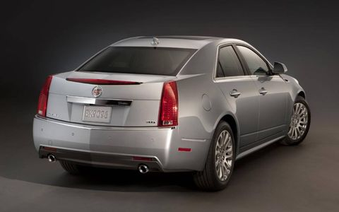 Our test 2013 Cadillac CTS AWD Sedan came in at $52,285. With the base price at $51,085.