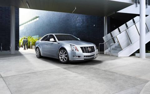 The 2013 Cadillac CTS AWD Sedan is equipped with a 3.5-liter V6 providing 318 horsepower.