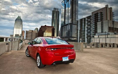 The 2013 Dodge Dart will be offered in five trim levels.