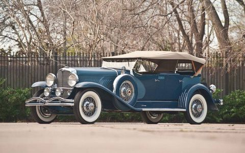 This 1932 Duesenberg is expected to sell for between $400,000 and $600,000