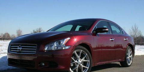 Driver's Log Gallery: 2010 Nissan Maxima 3.5SV