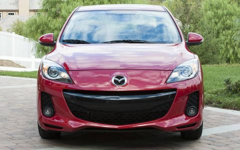 The 2013 Mazda 3 i Touring Sedan receives an epa estimated 40 mpg on the highway, with an overall 33 mpg rating.