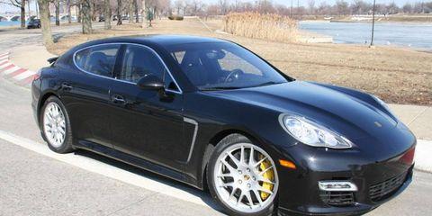 Driver's Log Gallery: 2010 Porsche Panamera Turbo