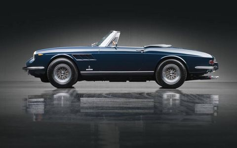 No real surprise: This 1967 Ferrari 330 GTS by Pininfarina sold for an impressive $1,936,000.
