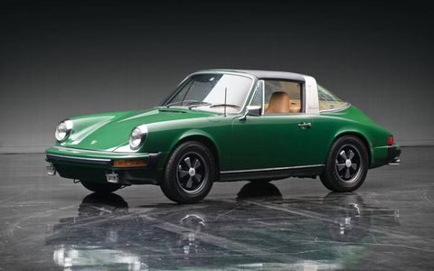 This 1975 Porsche 911S Targa sold for a shocking $55,000. We're sure it was really, really nice, but still...