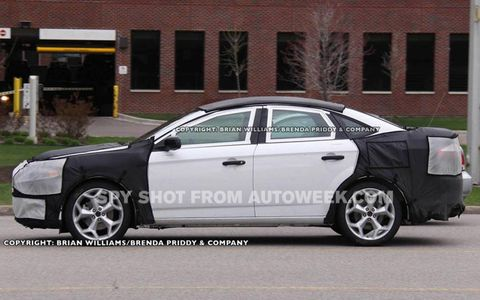 Spied: 2013 Ford Fusion