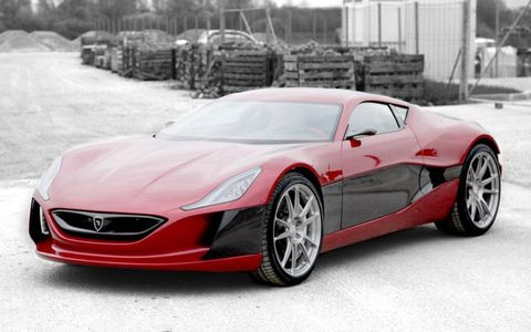 The Rimac sells for $980,000.