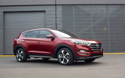 The new Tucson offers a fresh exterior and appealing interior design while maintaining fuel efficiency.