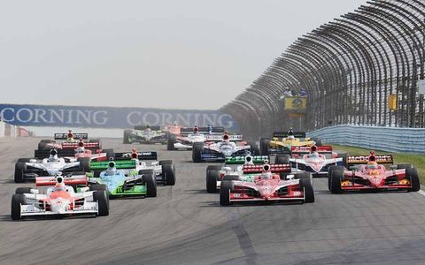 The start of the Camping World Grand Prix