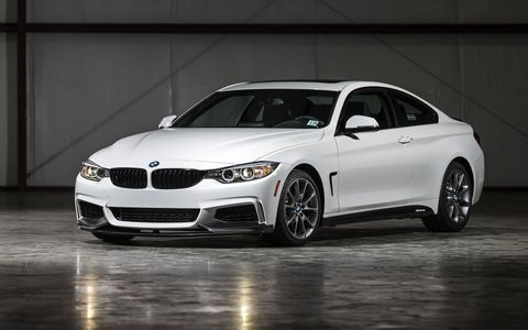 The ZHP 435i comes with the new Track Handling Package, BMW M Performance Limited Slip Differential, BMW M Performance Parts and the M Sport Package.