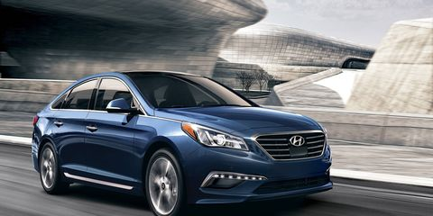The Android Auto compatible Navigation system with an eight-inch touchscreen display is available on the Sonata Sport, Eco, Limited, Sport 2.0T and Limited 2.0T models.