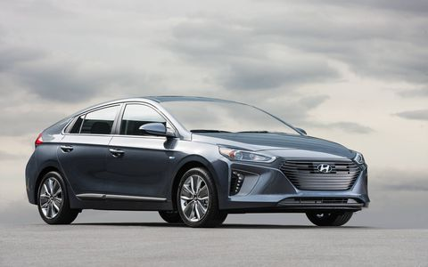 The Ioniq hybrid will be joined by an EV and a plug-in later this year.