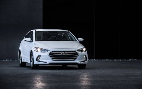 It helps that the Eco's 1.4-liter turbo gets a decent torque advantage over the Elantra's standard naturally aspirated 2.0-liter.
