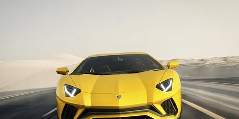 The new 2017 Lamborghini Aventador S, at 730 hp, is more powerful and, Lamborghini says, no heavier, but there are also no stated improvements to acceleration times -- even the 217-mph top end is static.