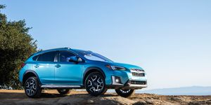 The 2019 Subaru Crosstrek Hybrid delivers a total of 148 hp from its four-cylinder engine and electric motor.