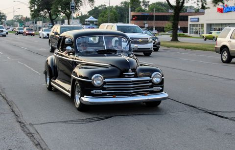 1947/48 Plymouth at the 2018 Woodward Dream Cruise