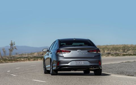 The 2018 Hyundai Sonata redesign is more aggressive than the last, but not as wild at the 2009 restyle.