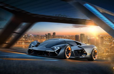 A production version of the Terzo Millennio concept will not be available for years, if at all.