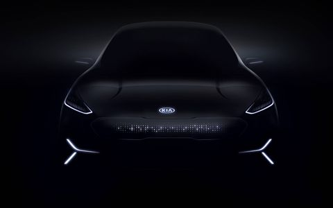 The Kia Niro EV concept car will be on display at CES 2018.
