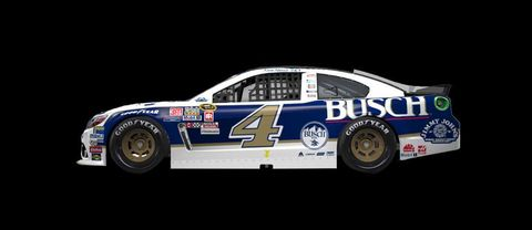 Kevin Harvick will drive Cale Yarborough's Busch scheme from the 1979 Daytona 500. NASCAR fans will remember this as the race where Yarborough fought with Donnie and Bobby Allison.