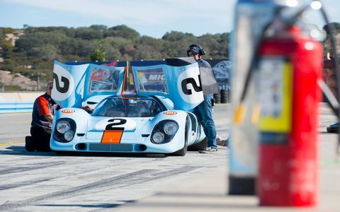There were thousands of Porsches at Rennsport Reunion V in Monterey, here are a handful of our favorites.