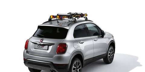 Mopar will have a full lineup of accessories by the time the 500X goes on sale in the states.