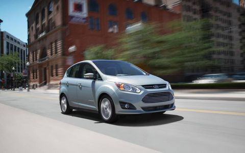 The 2013 Ford CMax Hybrid SEL is truly a green car.