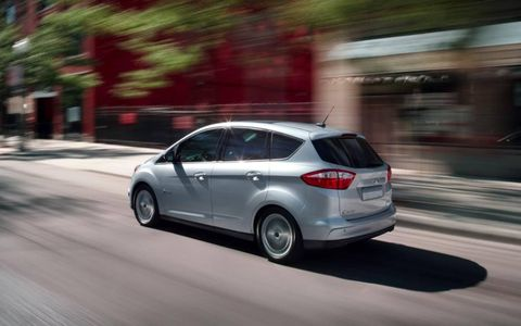 The 2013 Ford CMax Hybrid SEL receives an EPA estimated 47 mpg across the board.