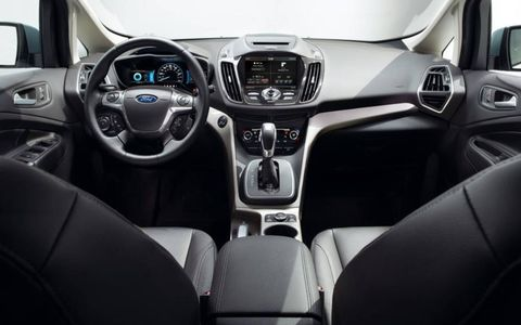 Adding equipment group 302A to the 2013 Ford CMax Hybrid SEL includes premium audio, navigation, hands-free technology, power liftgate and much more.