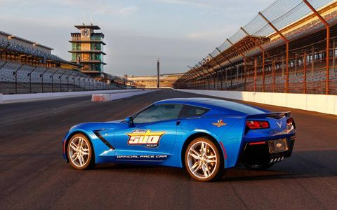The new Corvette will pace the 2013 Indy 500.