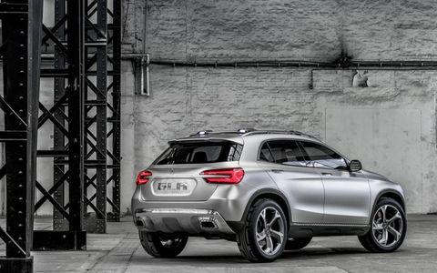 Mercedes-Benz Comcept GLA