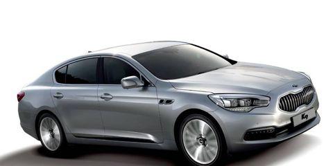 The K9 is Kia's first rear-wheel drive sedan.