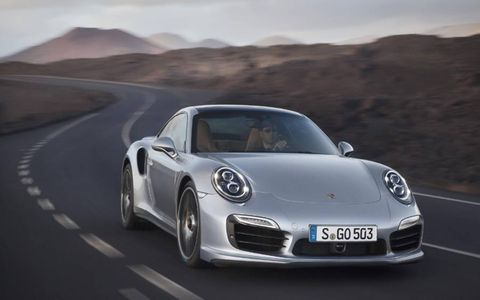 The 2014 Porsche Turbo and Turbo S should arrive in dealerships by the end of the year. Expect to pay at least $148,300 for the Turbo and $181,100 for the Turbo S.