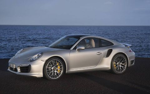 The 2014 911 Turbo gets Porsche's new all-wheel-drive system with active rear steering, adaptive aero and 520 hp.