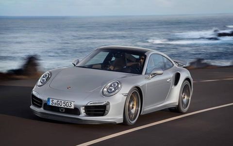 The new Porsche 911 Turbo is good for a sub-seven-and-a-half-minute lap on the Nürburgring North Loop -- and that's on production tires.