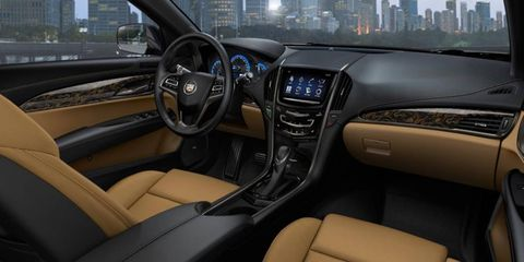 The interior of the 2013 Cadillac ATS is simply divine luxury.
