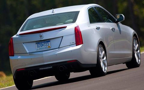 The 2013 Cadillac ATS has eye-catching illustrious styling.
