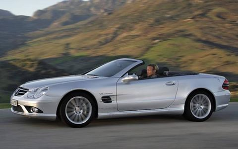 Sometimes it's hard to tell which is the cart and which is the horse. Sometimes, in automobiles, it doesn't matter which goes first. There is engineering (product) and there is marketing (hype), and now there is a new showpiece V8 from AMG. It's called the 6.3. The 6.3 stirs emotion on at least two levels. For the foreseeable future, this engine will power most of the hot rod Mercedes crafted by the firm's high-performance subsidiary. It generates wads of horsepower and torque—nearly 500 units of both—and it's more refined at the extreme edge of its performance envelope than the tweaked Mercedes V8s it replaces. Figuratively, the new 6.3 connects AMG with its glorious past and the mother company's past. Its name is symbolic, even if the symbolism follows a slightly convoluted path back to the 1960s.