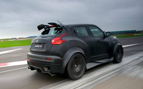 Juke-R on track