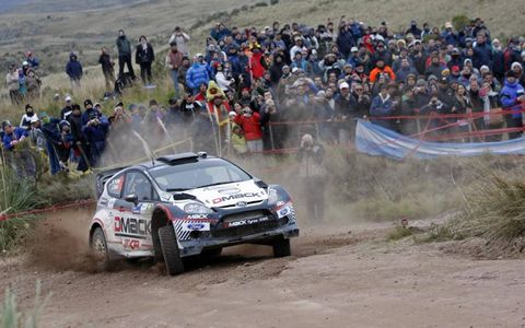 2012 FIA World Rally Championship- Argentina: Martin Prokop, Ford.