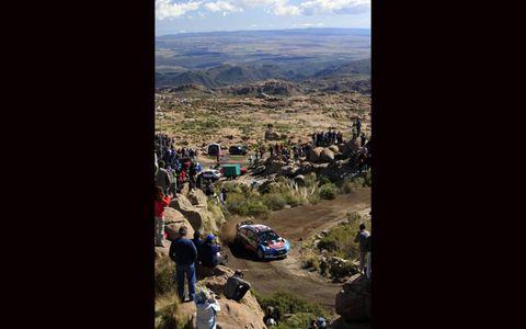 2012 FIA World Rally Championship- Argentina: Mads Ostberg, Ford.
