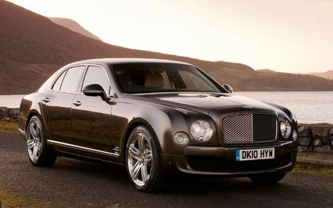 Bentley says its flagship Mulsanne is the largest production sedan the British automaker has built yet