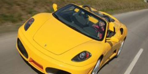 Topless Ferraris in Italy: Does it get any better? Not to us it doesn't.