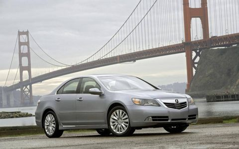 2011 Acura RL with Advanced Package