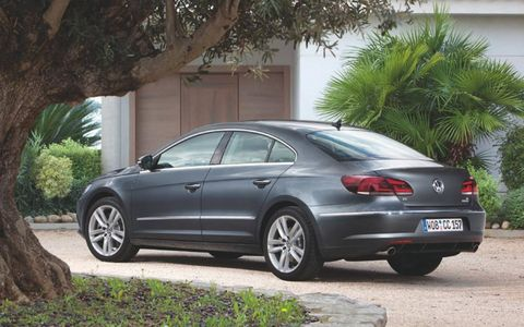 Pricing for the 2013 Volkswagen CC Sport starts at $31,430.