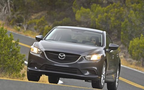 "The 2014 Mazda 6i Sport brings out the ""zoom-zoom."""
