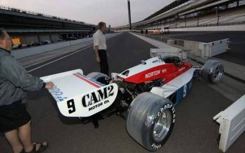 Rick Mears' 1979 Indianapolis 500 winning Penske PC-6/Cosworth