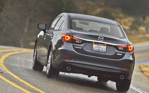 The 2014 Mazda 6i Sport comes in at a base price of $21,975.
